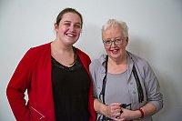 Femke Post en Folly Hemrica (Foto's Melle van der Wildt en Ton Snepvangers)