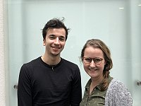 Yiri Bloemkolk en Carijn Westeneng
